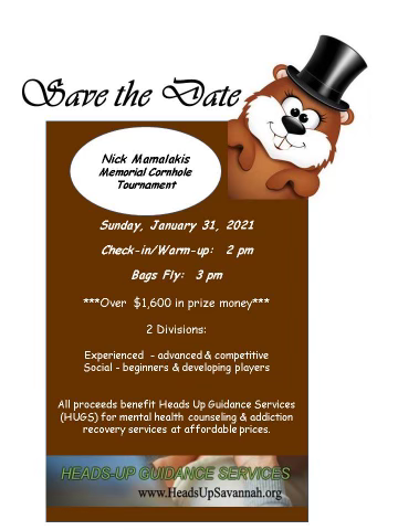 Save the Date: Cornhole Tournament