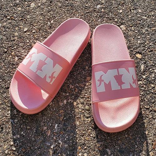 MN Slides Pink/White (Women's)
