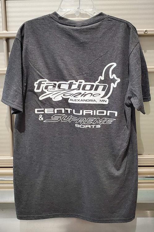 Faction Marine Supreme/Centurion Tee - Charcoal Heather