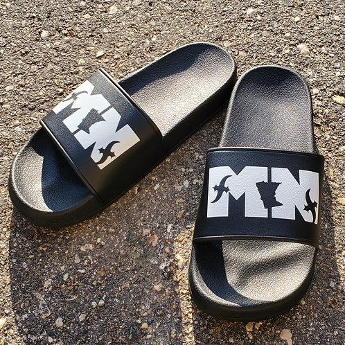 MN Slides Black/White