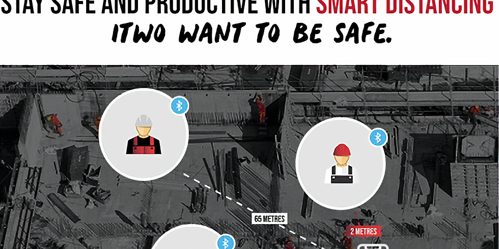 Webinar: Stay Safe and Productive with Smart Distancing with iTWOsafe