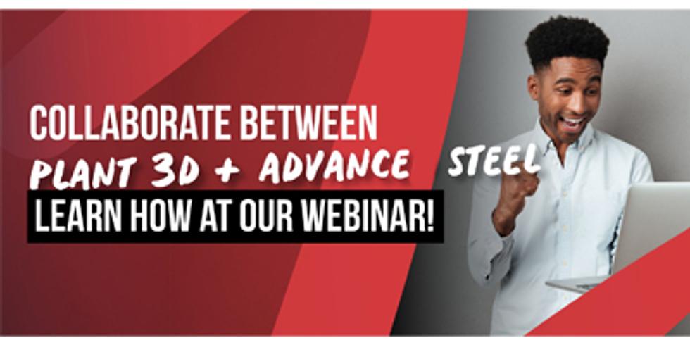 Plant 3D + Advance Steel Data Exchange - Webinar