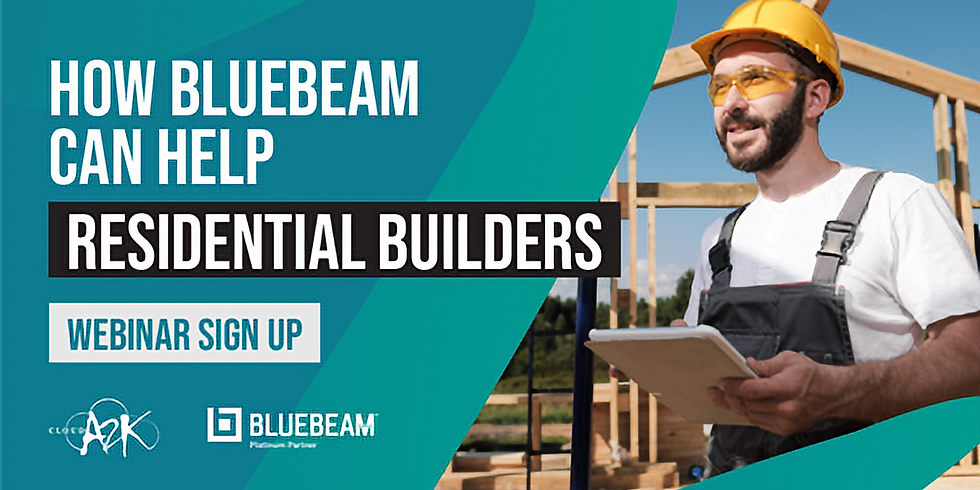 How Bluebeam can help the Residential Industry