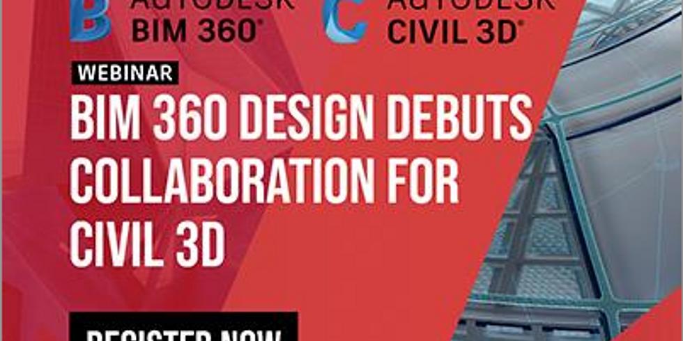 Live Demo - BIM 360 Design debuts Collaboration for Civil 3D