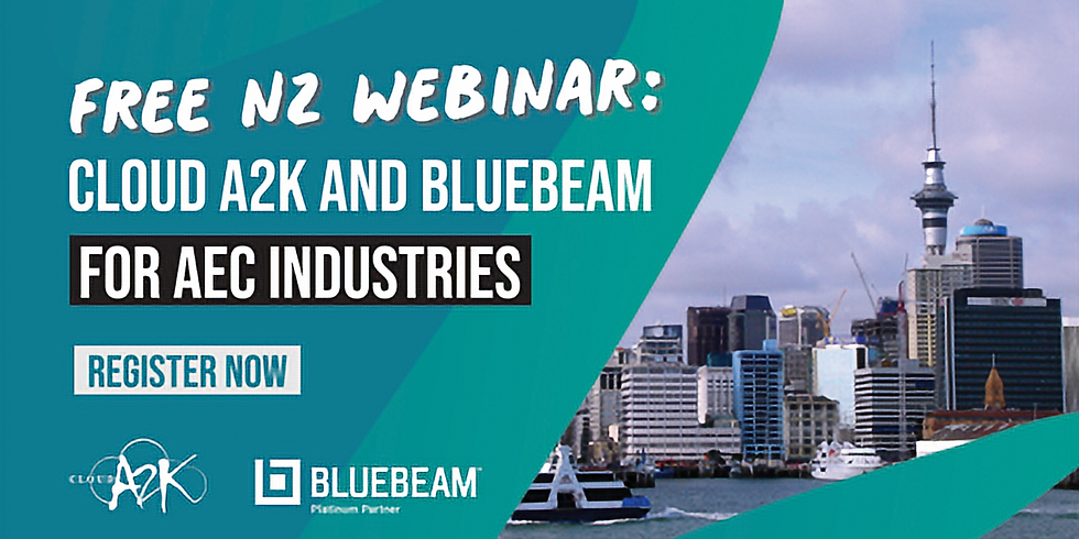 Cloud A2K and Bluebeam for AEC in New Zealand