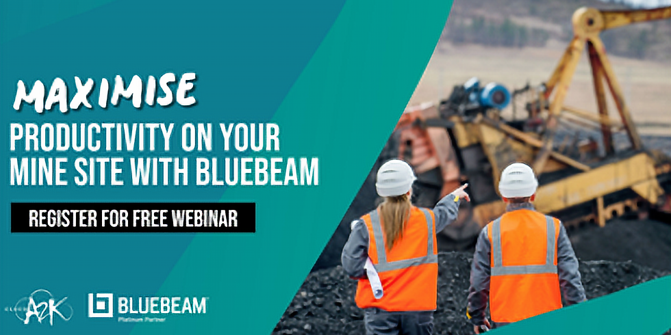 Webinar: How Bluebeam Can Help the Mining Industry