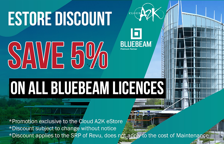 eStore Bluebeam 5 percent off_for websit