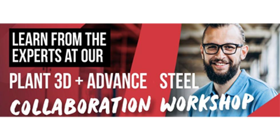 Plant 3D + Advance Steel Data Exchange - Workshop - Brisbane