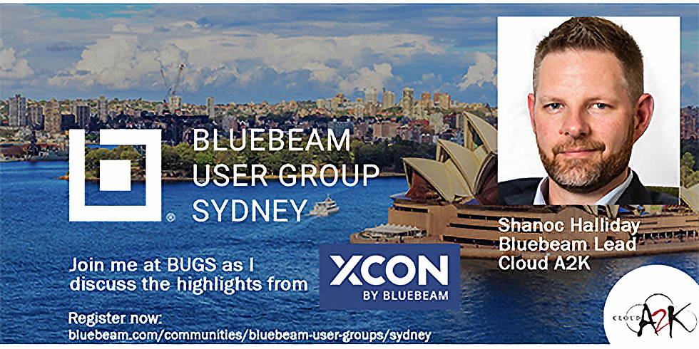 Bluebeam User Group Sydney (BUGS)