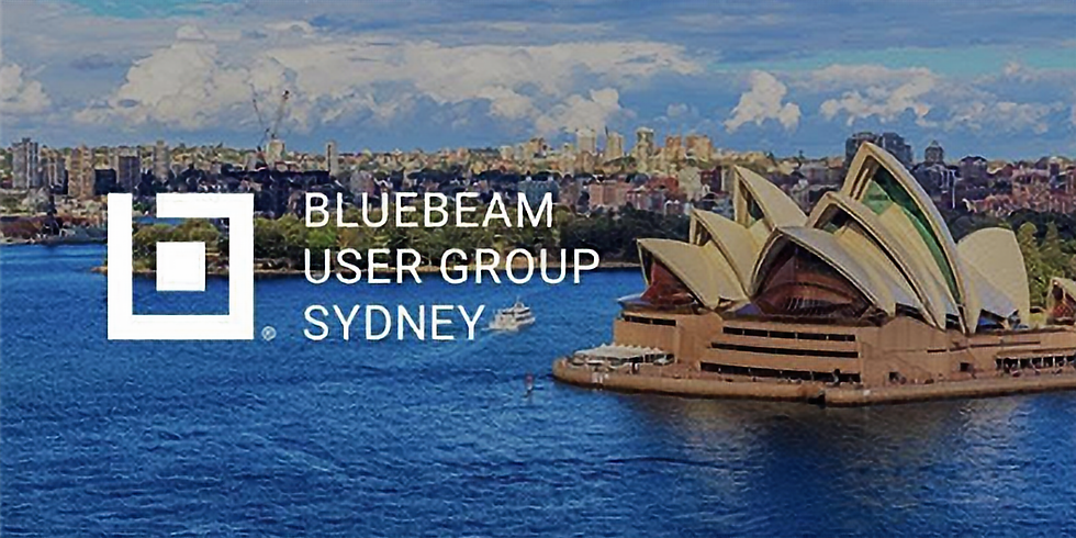 Bluebeam User Group Sydney