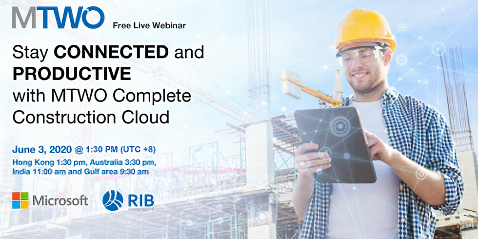 RIB and Microsoft hosted Webinar: Stay Connected and Productive with MTWO