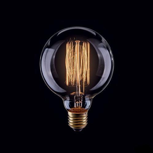 Ретро Лампа Эдисона G95 | Люстра Паук | Ретро Лампа | Лампа Эдисона | Ретро Патрон | Ретро Провод | LustraPauk
