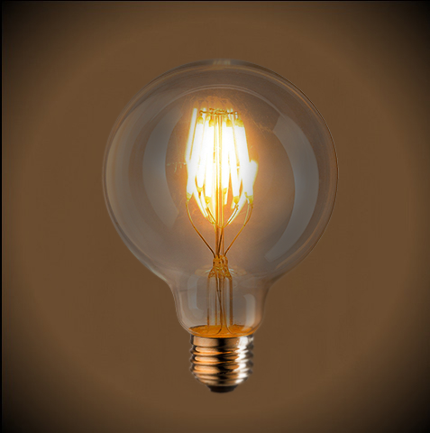 Светодиодная Ретро Лампа Эдисона G125 LED | Люстра Паук | Ретро Лампа | Лампа Эдисона | Ретро Патрон | Ретро Провод | LustraP