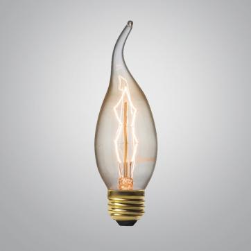 Ретро Лампа Эдисона С-35 F | Люстра Паук | Ретро Лампа | Лампа Эдисона | Ретро Патрон | Ретро Провод | LustraPauk