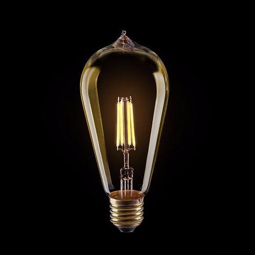 Светодиодная Ретро Лампа Эдисона ST64 LED