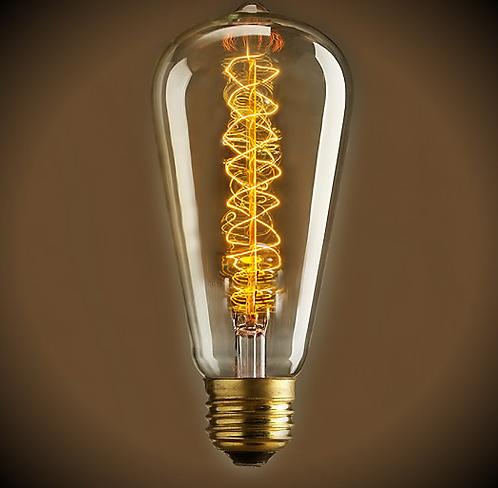 Ретро Лампа Эдисона ST 64 | Люстра Паук | Ретро Лампа | Лампа Эдисона | Ретро Патрон | Ретро Провод | LustraPauk