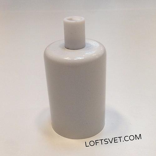Металлический Ретро Патрон (Белый) | Люстра Паук | Ретро Лампы | Лампы Эдисона | Лофт Свет | Светильники в стиле Лофт |Loft