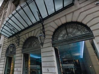 5 Old Broad Street – Granite Column Repair