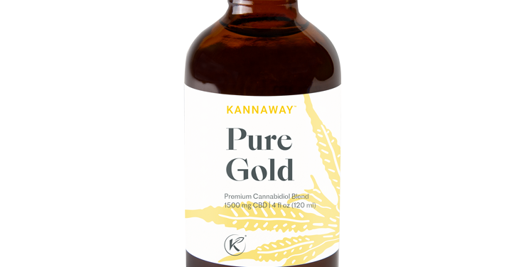 PURE GOLD spectrum oil 1500mg. 4oz NO THC
