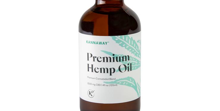 Premium Hemp Oil Liquid 1500 mg