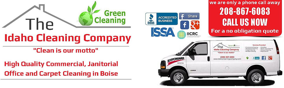 Boise office cleaning, Boise commercial cleaning, Boise janitorial services,  Boise Carpet Cleaning
