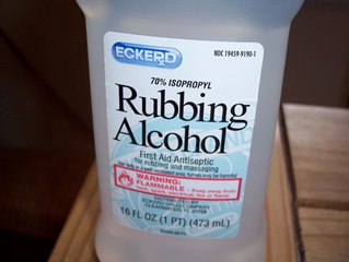 Cleaning With Alcohol