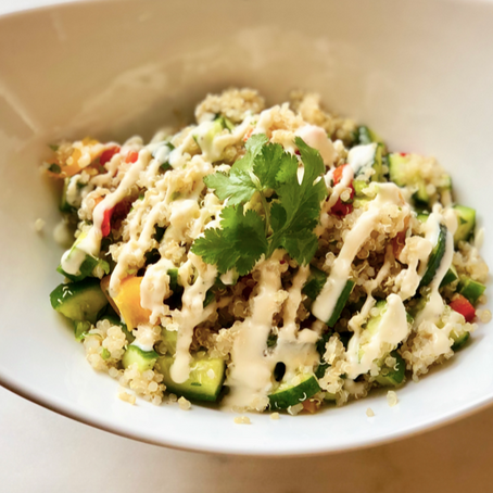 Prebiotic Ancient Grain Salad