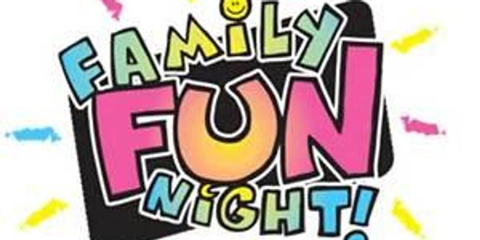 Welcome Back Family Fun Night