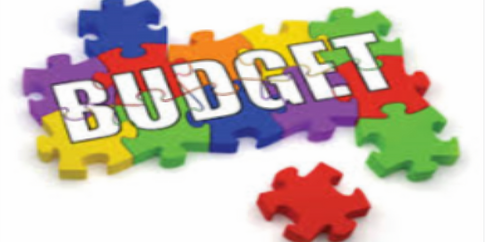 Governing Board Budget Meeting