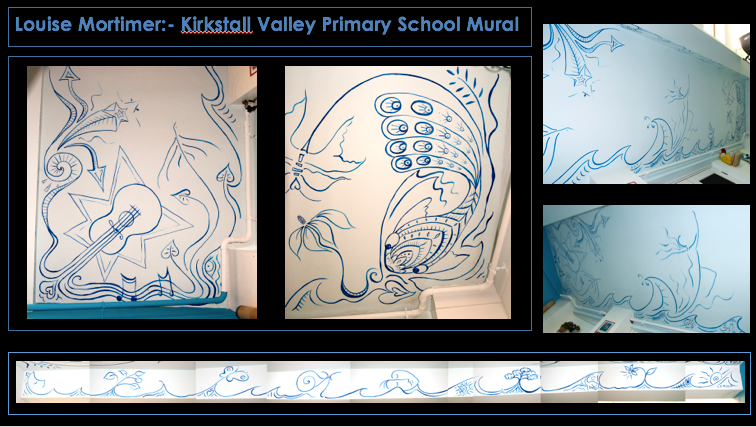 Workshop at KVPS Primary School for Kirkstall Art Trail