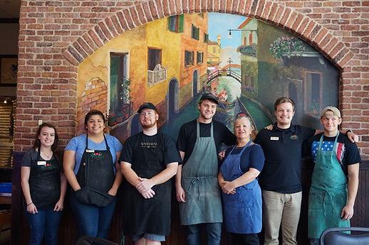 Mattenga's Pizzeria crew