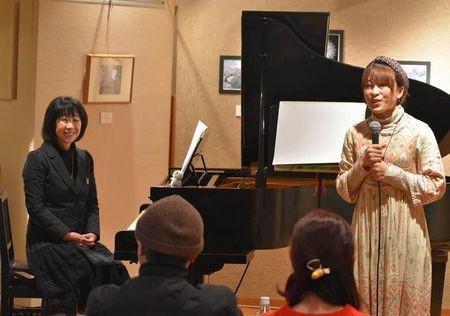 宇奈月国際会館セレネ にてミニコンサート