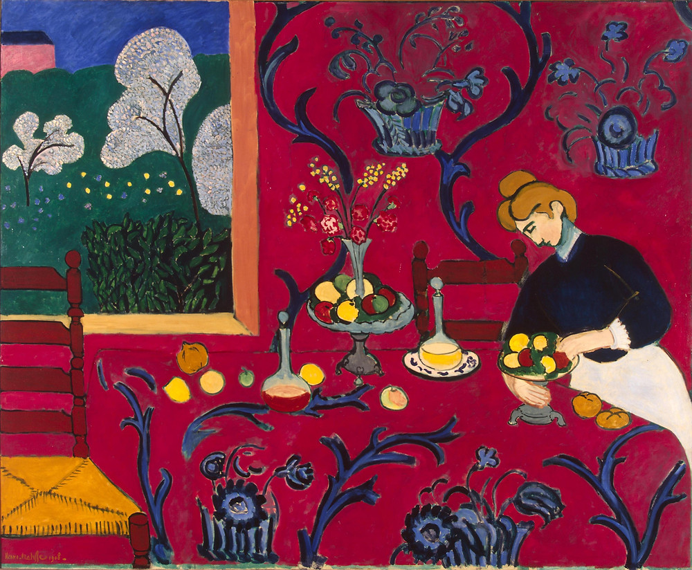 Red Room (Harmony in Red) Henri Matisse