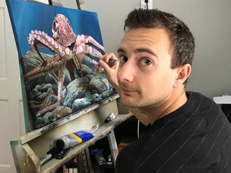 Erik Weedeman: Helping People Through His Art
