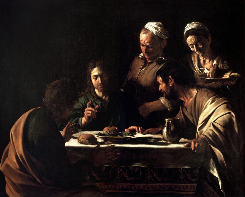 Caravaggio: Supperat Emmaus