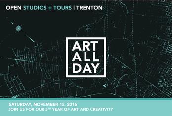Excursiocity: Art Around Town - Trenton's Art All Day Open Studio Tour