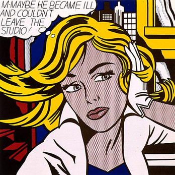 Artists Born This Month: Roy Lichtenstein