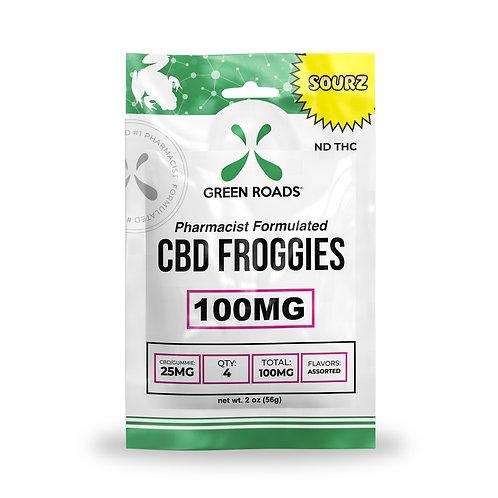 Gummies - 100mg Froggies Sourz