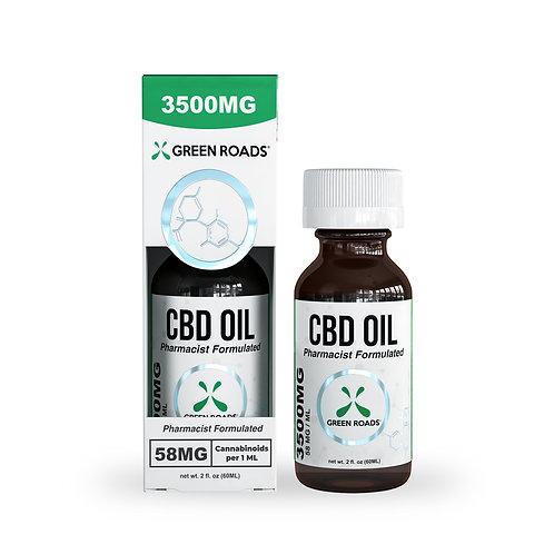 Tincture - 3,500mg CBD Oil
