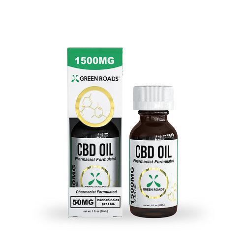 Tincture - 1,500mg CBD Oil