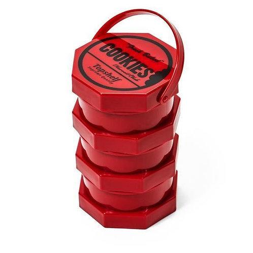 Cookies Storage Jar Regular (Red)