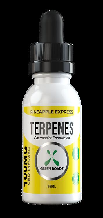 CBD Oil + Terpene Blend 100mg - Pineapple Express