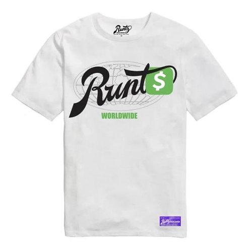 Cash App T-Shirt By Runtz - White