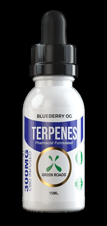 CBD Oil + Terpene Blend 300mg - Blueberry OG