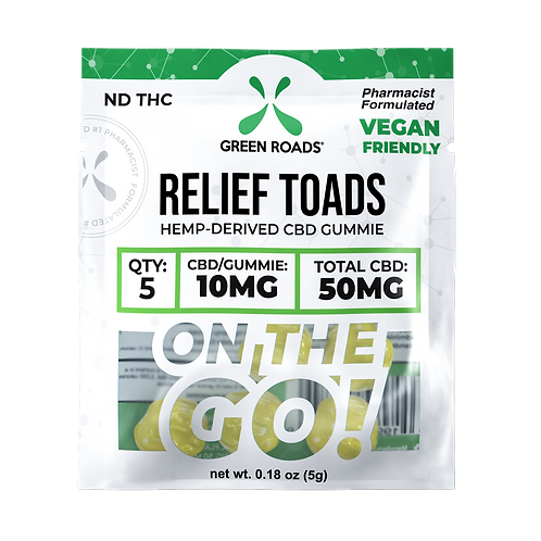 Gummies - 50mg Relief Toads