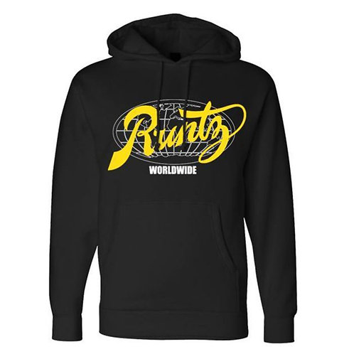 All Country Hoodie by Runtz - Black & Yellow