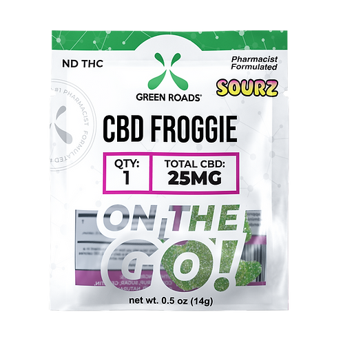 Gummies - 25mg Froggies Sourz