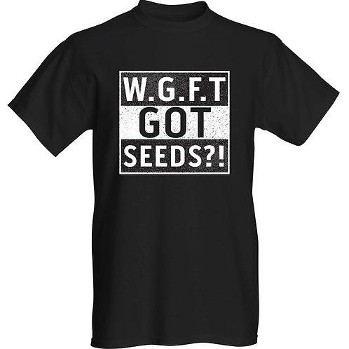 W.G.F.T Logo Black T-Shirt