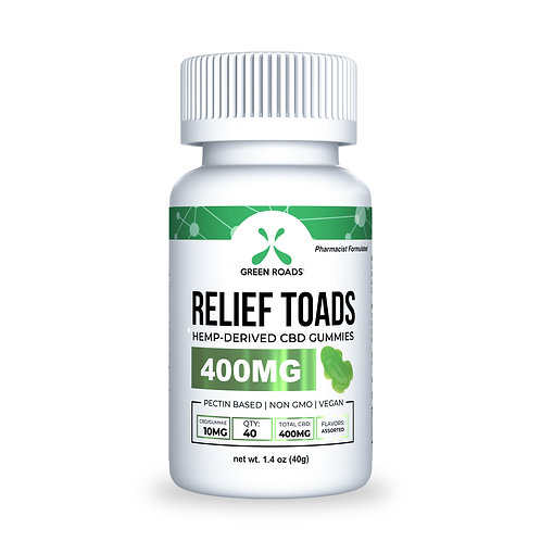 Gummies - 400mg Relief Toads