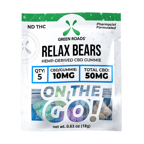 Gummies - 50mg Relax Bears